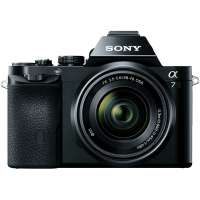 Sony Alpha A7 24.3MP Compact System Camera with FE 28-70mm f/3.5-5.6 OSS Lens (ILCE7KB.CE)