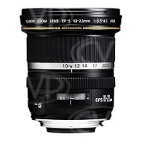 Canon EF-S 10-22mm f/3.5-4.5 UsM Ultra Wide Angle Zoom Lens (p/n 9518A007AA)