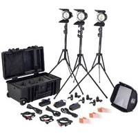 Litepanels Sola ENG LED Fresnel Flight Kit With US Plugs (p/n 906-1030)