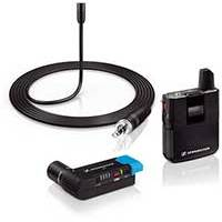 Sennheiser AVX-MKE2 Wireless Microphone set including MKE 2 Lavalier Microphone, Body-pack Transmitter and Plug-on Receiver (p/n 505856)