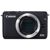 Canon EOS M10 EF-M 18.5 Megapixel Digital Camera Body Only - Black (p/n 0584C041AA)