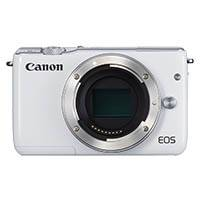 Canon EOS M10 EF-M 18.5 Megapixel Digital Camera Body Only - White (p/n 0922C041AA)