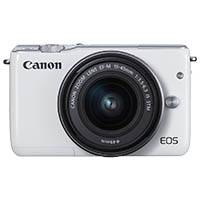 Canon EOS M10 EF-M 18.5 Megapixel Digital Camera with 15-45mm IS STM Lens - White (p/n 0922C039AA)