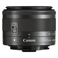 Canon EF-M 15-45mm f3.5-6.3 IS STM Lens - Graphite (p/n 0572C005AA)