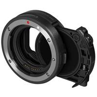 Canon Mount Adapter EF-EOS R with Drop-In Circular Polarising Filter for Canon EOS R Full Frame Mirrorless Camera