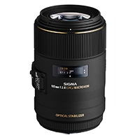 Sigma (258954) 105mm f/2.8 EX DG Macro OS HSM Lens for Canon EOS DSLRs (EF)
