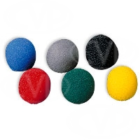 Sony AD-C77 (ADC77) set of 12 coloured windshields for ECM-77 series lavalier microphone