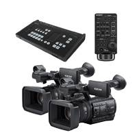 Sony MCX-500 (MCX500Z150CAMKIT) Multi-Camera Live Producer Bundle with RM-30BP Controller and 2x PXW-Z150 Camcorders