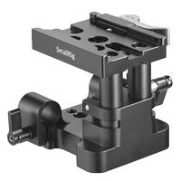 SmallRig 2145 (SR2145) Universal 15mm Rail Support System Baseplate (QR Plate Excluded)