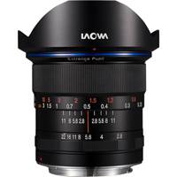 Laowa VE1228C (VE-1228-C) 12mm f/2.8 Zero-D Ultra Wide Angle Zoom Lens (Black) - Canon EF Mount