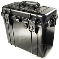 Peli Products 1430 Waterproof Top Loader Case with Foam - Black (Pelican, Pelicase) (Internal Dimensions: W 36.0 cm x D 16.2 cm x H 29.5 cm)