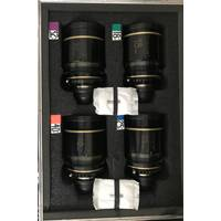 Used Cooke Optics S5i Prime Lenses T1.4 set which includes 18,25,32,40,50,65,75 and 100mm - PL Mount