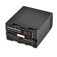 Hawk-Woods BP-75U (BP75U) Lithium-Ion Battery Pack (75Wh) (Sony BP-U Type) (75Wh)