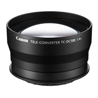 Canon TC-DC58E (TCDC58E) Tele-converter for the PowerShot G15 Compact Digital Camera convert your focal distance to 1.4x (p/n 6926B001AA)