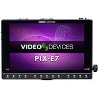 Sound Devices PIX-E7 (PIXE7) Portable 7-inch HD Recorder/Monitor With Touch Control, 3G-SDI/HDMI Input and Output, Supports Apple ProRes 4444 XQ