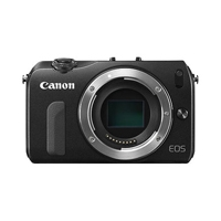 Canon EOS M Twin Lens Kit (Black) 18-Megapixel Camera with EF-M 18-55mm f/3.5-5.6 IS STM  and EF-M 22mm f/2 STM Lenses (Canon p/n 6609B057AA)