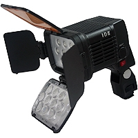 IDX X10-LITE-S (X10LITES) Professional LED 1800 lux On-Board Camera Light, With 6-17 Volt D-tap or (Optional) B-7478S Battery (Sony L series Battery Mount)
