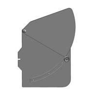 Movcam 301-0201-08 Right Flag for MM-1 / MM-102 / MM-1A MatteBox models