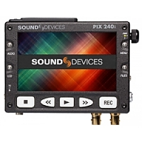 Sound Devices PIX 240i (PIX240i, PIX-240i) Portable Video Recorder with HDMI and HD-SDI Connectors - Records Using Apple ProRes and Avid DNxHD