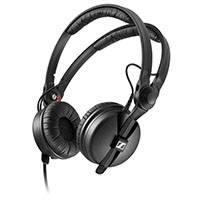 Sennheiser HD-25 Plus (HD 25 Plus) Professional Headphones with Storage Pouch and second set of Velour Earpads