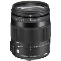 Sigma (885954) 18-200mm F3.5-6.3 DC Macro OS HSM Lens (stabilised) - Canon Fit