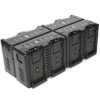 Hawk-Woods DV-MC8A (DVMC8A) 8-Channel Simultaneous Canon BP Battery Charger