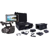 Sony PXW-FS5M2 Compact 4K Pro Camcorder (Body Only) with Atomos Shogun Inferno and Accessory Kit