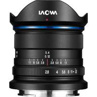 Laowa VE928SE (VE-928-SE) 9mm f/2.8 Zero-D Ultra Wide Angle Zoom Lens (Black) - Sony E Mount