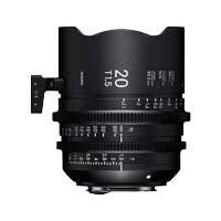 Sigma 20mm T1.5 FF High Speed Prime Cine Lens - EF Mount - Available in Feet or Metre Scale (412966 / 41M966)
