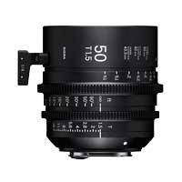 Sigma 50mm T1.5 FF High Speed Prime Cine Lens - EF Mount - Available in Feet and Metre Scale (311966 / 31M966)