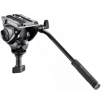 Manfrotto MVH500A (MVH-500A) Lightweight Fluid Video Head - 60mm Half Ball (5KG Payload)