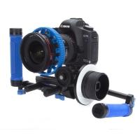 Redrock Micro Captain Stubling DSLR hybrid camera rig - microFollowFocus Black (p/n 18-066-0007)