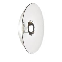 Elinchrom EL26168 44cm Minisoft Beauty Dish in White with Deflectors
