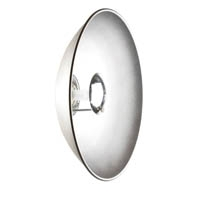 Elinchrom EL26166 44cm Minisoft Beauty Dish in Silver with Deflectors