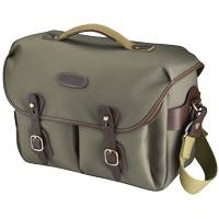 Billingham Hadley One Camera Bag - Sage FibreNyte Chocolate Lea (Internal Dimensions: 350mmx120mmx250mm) (p/n 588648-54)