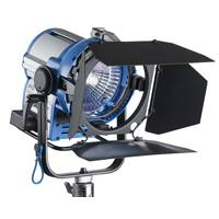 Arri L0.37200AS (L0.37200AS) M-Series M8 EB Max Set - including Fresnel Light, Lamphead, 4-Leaf Barndoor, Spill Rig, Head to Ballast Cable
