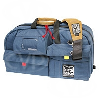 Portabrace CO-PC (COPC) Carry-On Soft Case for broadcast camcorders (internal dimensions: 60.96 x 15.24 x 30.48 cm) (blue)