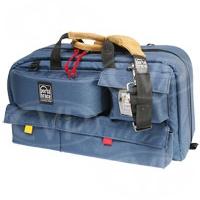 Portabrace CTC-3 (CTC3) Traveler case for shoulder-mount DV / DVCAM sized camcorders with standard lenses (internal dimensions: 55.88 x 16.51 x 25.40 cm) (blue)