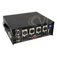 Hawk-Woods APD Audio Power Distribution Box - 6NP1 slots /4 XLR/ 4 SQN/ 12V Reg