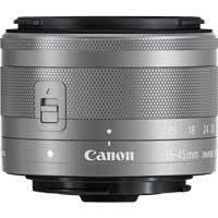 Canon EF-M 15-45mm f3.5-6.3 IS STM Lens - Silver (p/n 0597C005AA)