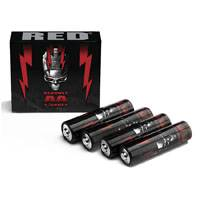 RED Redvolt AA (4-PACK) providing multi-purpose power for devices using AA Batteries (p/n 740-0023)