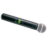 Shure SLX2/SM58 (SLX2-SM58) Handheld Wireless Microphone with Transmitter (K3E/Channel 38)