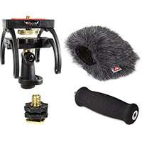 Rycote 046016 Zoom H2N Audio Kit including Windshield, Suspension, Hot Shoe Adapter and Handle
