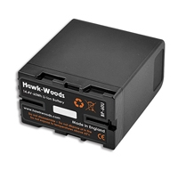 Hawk-Woods BP-60U (BP60U) 60Wh Lithium-Ion Sony BP-U Type Battery