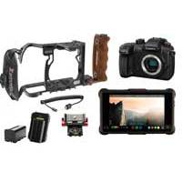 Panasonic GH5S Lumix DC-GH5S 10.2MP Digital Single Mirrorless Compact System Camera Kit with Atomos Ninja Inferno, Power Kit, Zacuto GH5 Cage, Inferno Mount and HDMI Cable (Panasonic GH5S)