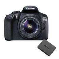 Canon EOS 1300D 18.7MP Megapixel Digital SLR Camera Power Kit with Canon EF-S 18-55mm IS II Lens and LP-E10 Battery (p/n 1160C065AA)