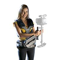 Glidecam Smooth Shooter body-mount camera stabilisation system (requires 2000 / 4000 sled) - GLSSH (GL-SSH)