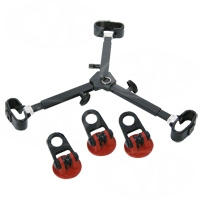 Sachtler 7011 Set Mid-Level Spreader 75 with 3 Rubber Feet for Tripods Speed Lock 75 CF (4588), ENG 75/2 D (4188) and DA 75 L (4183)