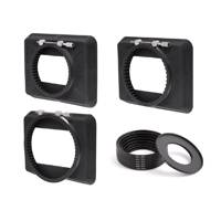Wooden Camera Zip Box 4x5.65 Kit includes 80-85mm, 90-95mm, 110-115mm, Adapter Rings (p/n 239400)