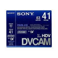 Sony PDVM-41N (PDVM41N) 41 Minute DVCAM (Mini Cassette) Blank Tape without IC Memory Chip